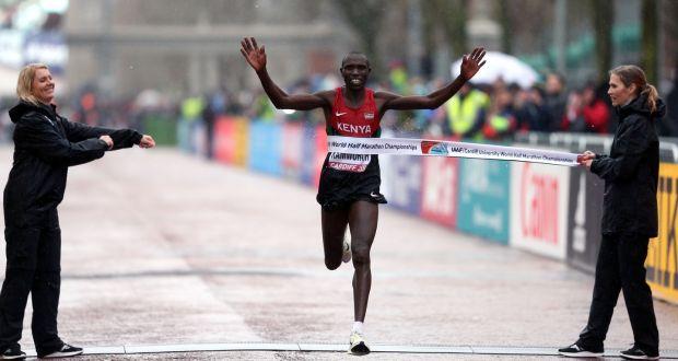 Geoffrey Kamworor, bicampeón mundial de medio maratón